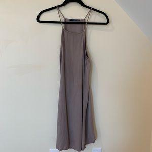 Brandy Melville Lilac Sleeveless Racerback Dress